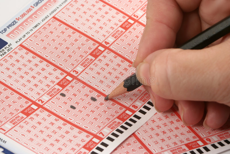 lotteri royaltyfri fotografi