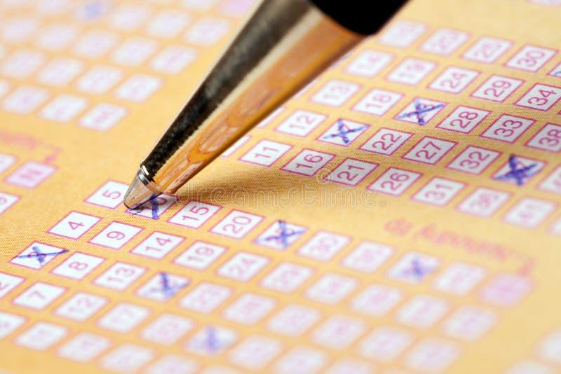 Lotterie stockbilder