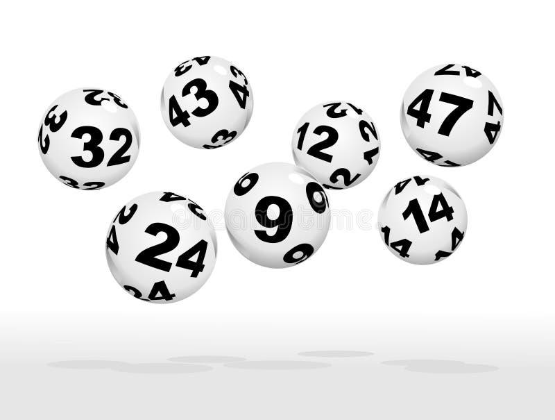 lotterie lizenzfreie abbildung