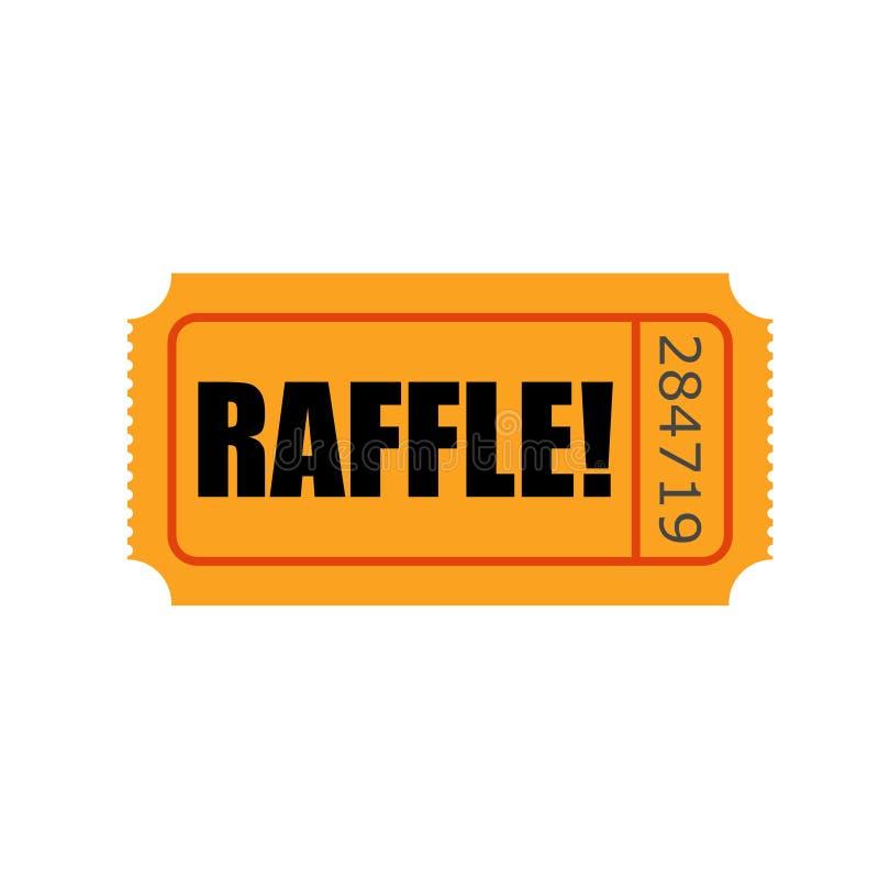 Lotterie-Karten-Wort tragen Wettbewerb ein lizenzfreie abbildung
