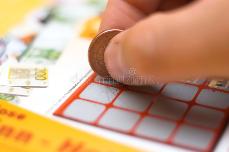 Lottery royalty free stock image