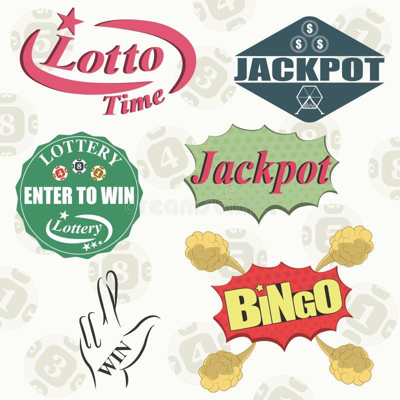 lottery ilustração stock
