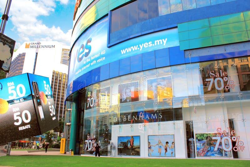 Lotto 10 Kuala Lumpur fotografia stock