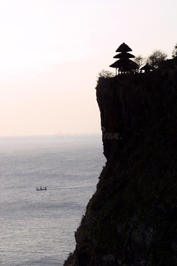 Lotto di Tanah, Bali Indonesia fotografia stock