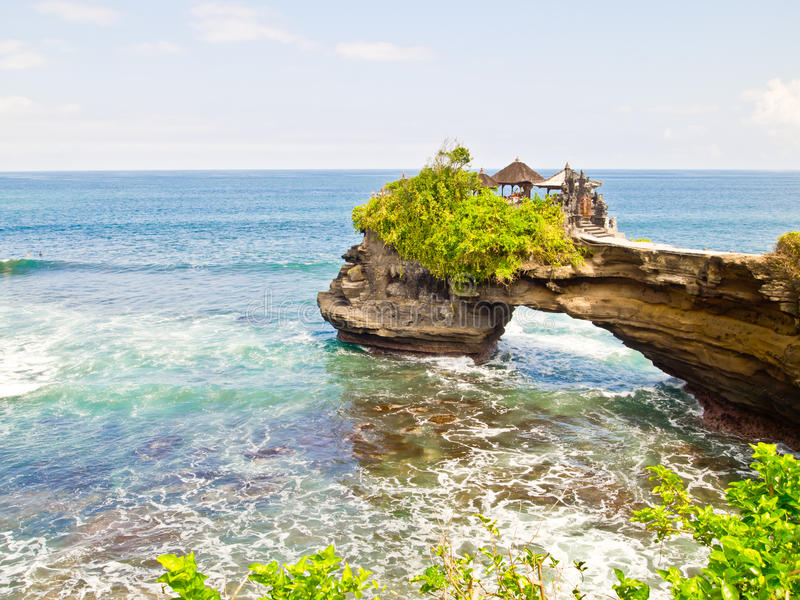 Lotto di Tanah, Bali, Indonesia 2 fotografia stock