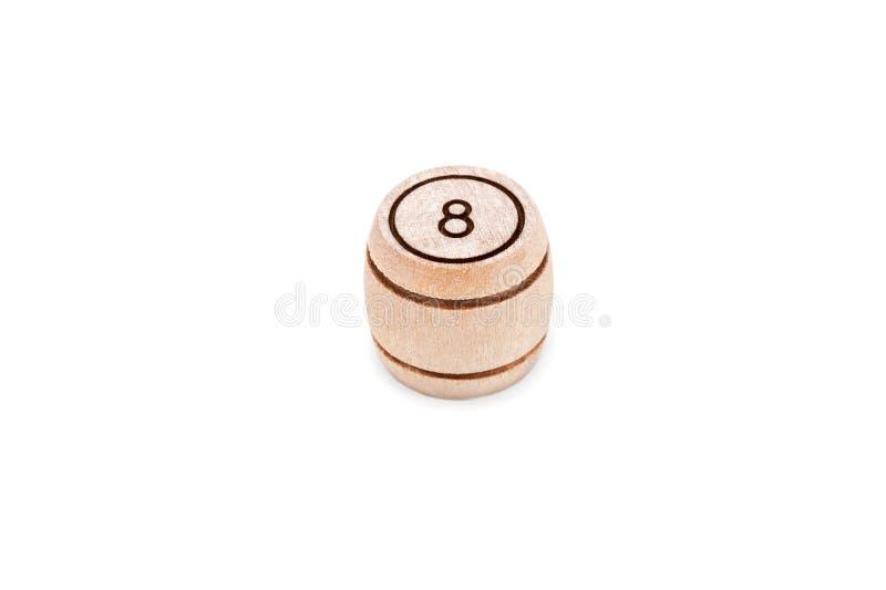 Lottofaß mit einer Tabelle acht stockfotos