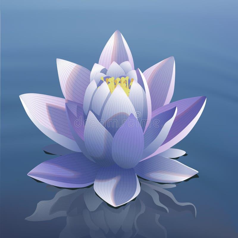 Lotus illustration de vecteur