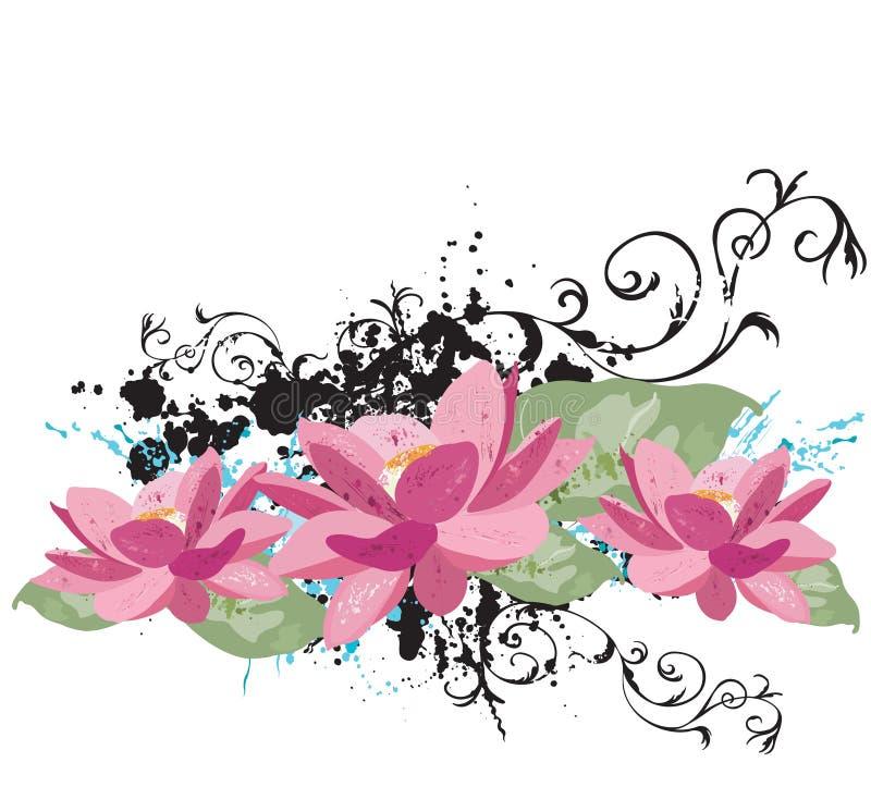 Lotus stock illustratie