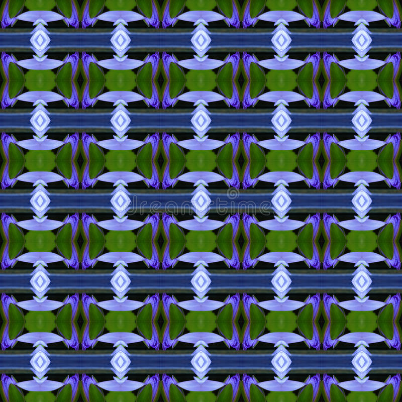 Lotus blu senza cuciture royalty illustrazione gratis