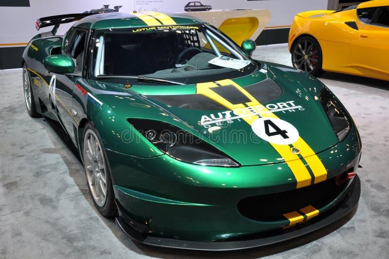 Lotus Car Exhibit stock photography
