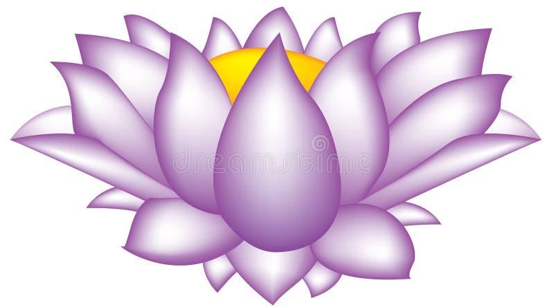 lotus de fleur illustration stock