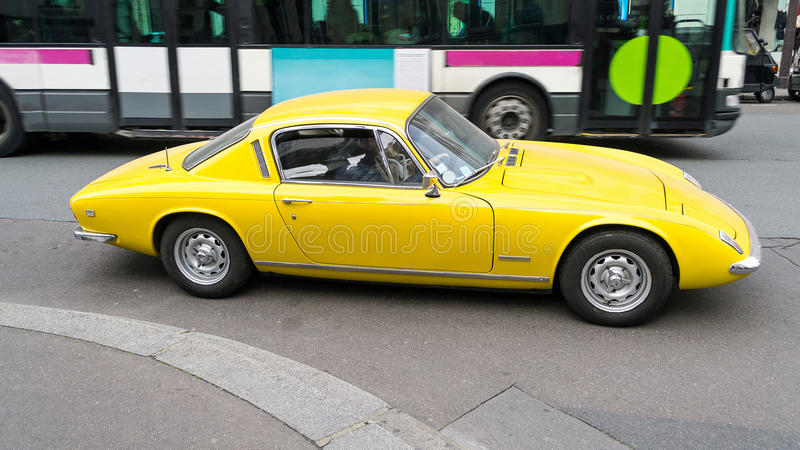 Lotus Elan 1974 +2 immagine stock