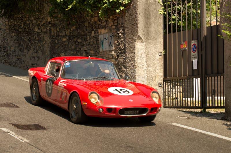Lotus Elan Bergamo Historic Grand Prix 2017 immagine stock