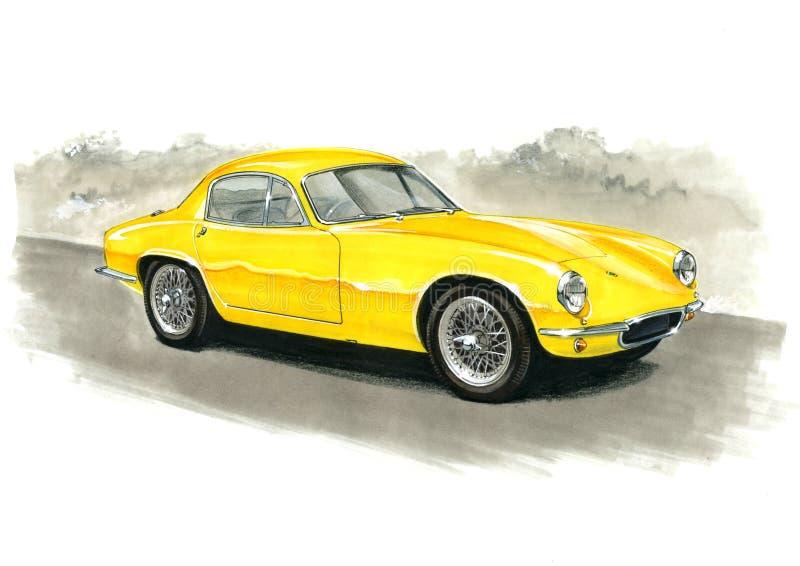 Lotus Elite ilustración del vector