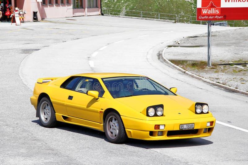 Lotus Esprit stockbild