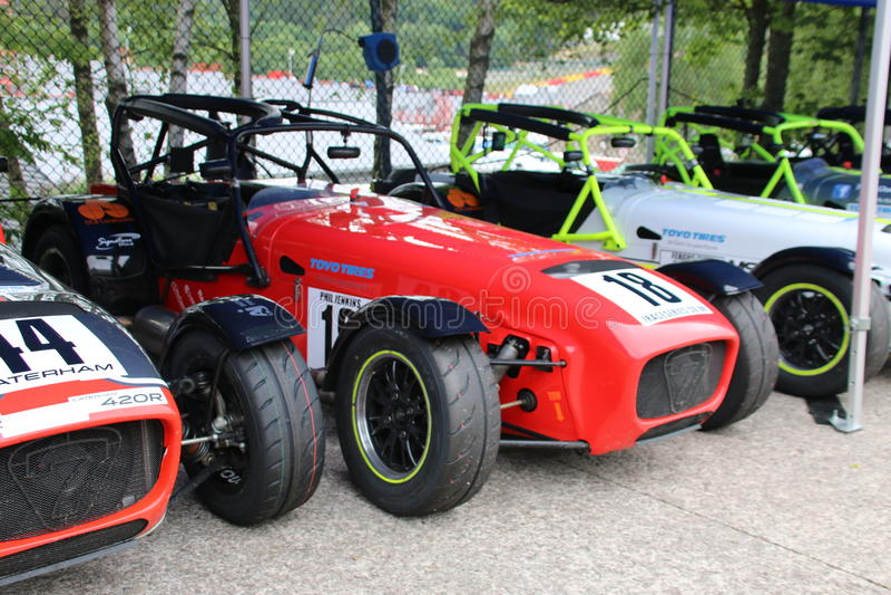 Lotus et x22 ; Seven& superbe x22 ; photo stock