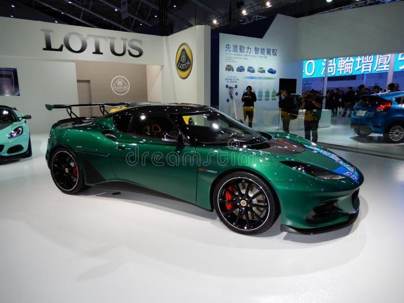Lotus Evora GT430 stock photography