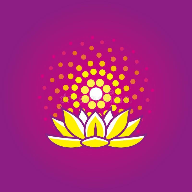 Lotus Fibonacci photo libre de droits