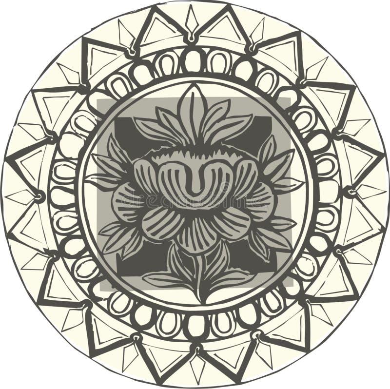 Download Lotus flower stock vector. Image of design, indian, tibetan - 20142575