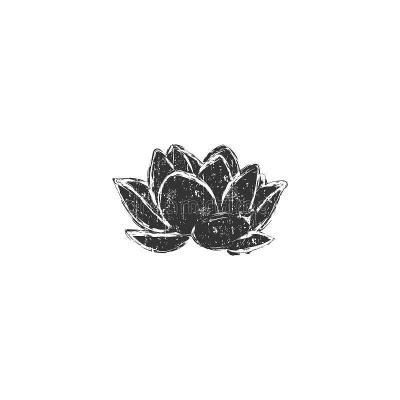 Lotus flower1 stock illustratie