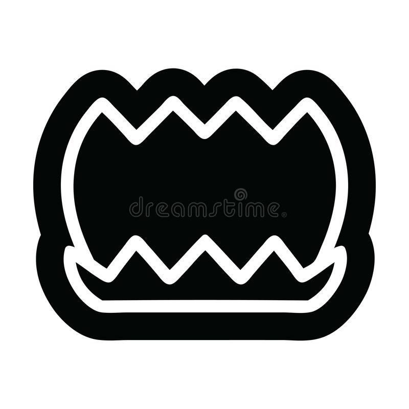 lotus flower icon symbol royalty free illustration