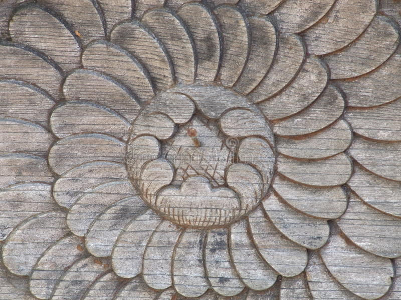 Download Wood sculpture stock image. Image of circle, background - 30287745