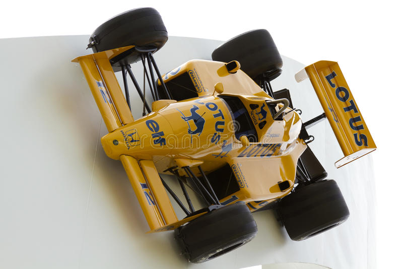 Lotus Formula 1 racing car royalty free stock images