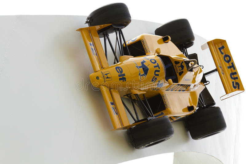 Lotus Formula 1 racing car stock images
