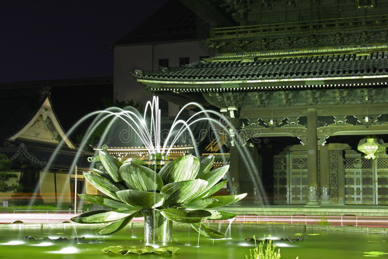Download Lotus Fountain stock photo. Image of fountain, scenic - 24753758