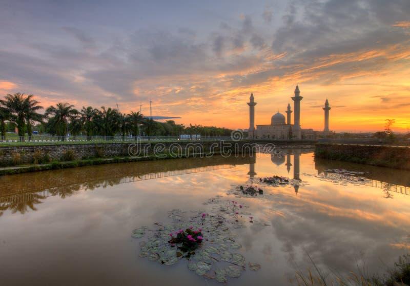 Lotus Lake. Masjid Bukit Jelutong Address 44 Jalan U8/15, Bukit Jelutong, 40150 Shah Alam, Selangor, Malaysia   Directions Masjid, Local Info, Place of Worship stock images