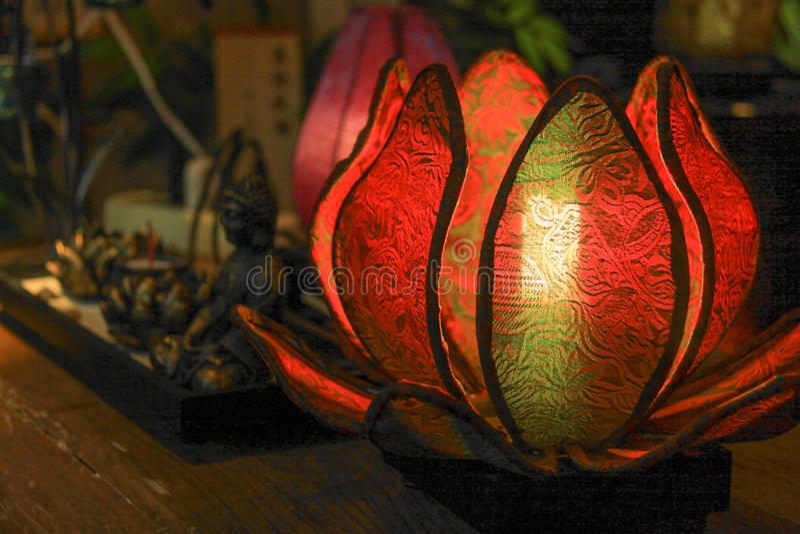 Lotus Light imagens de stock