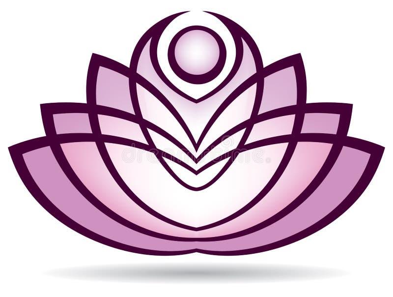 Lotus Logo royalty illustrazione gratis