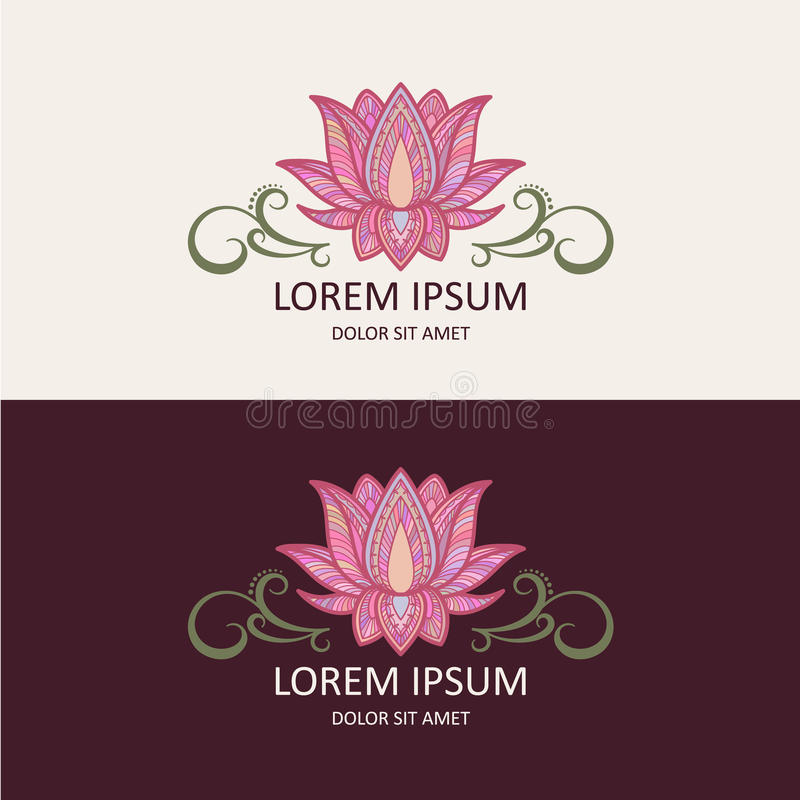 Lotus Logo vector illustratie