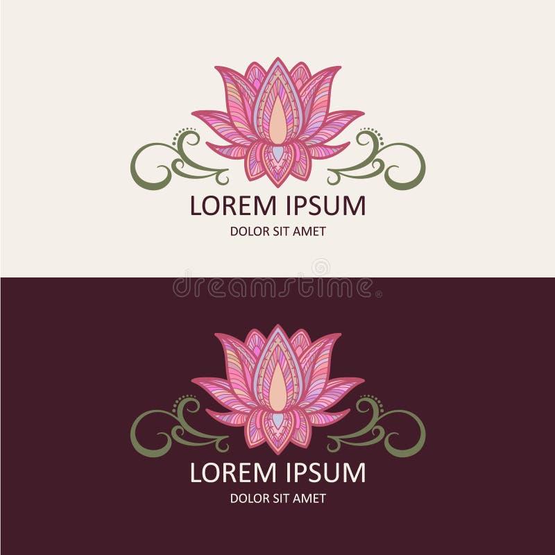 Lotus Logo vector illustration