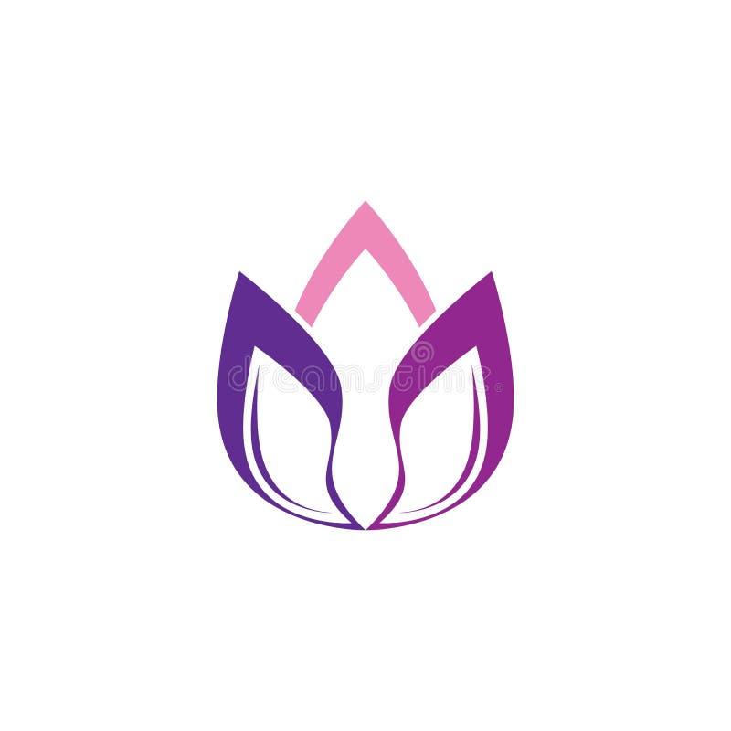 Lotus logo template royalty free illustration