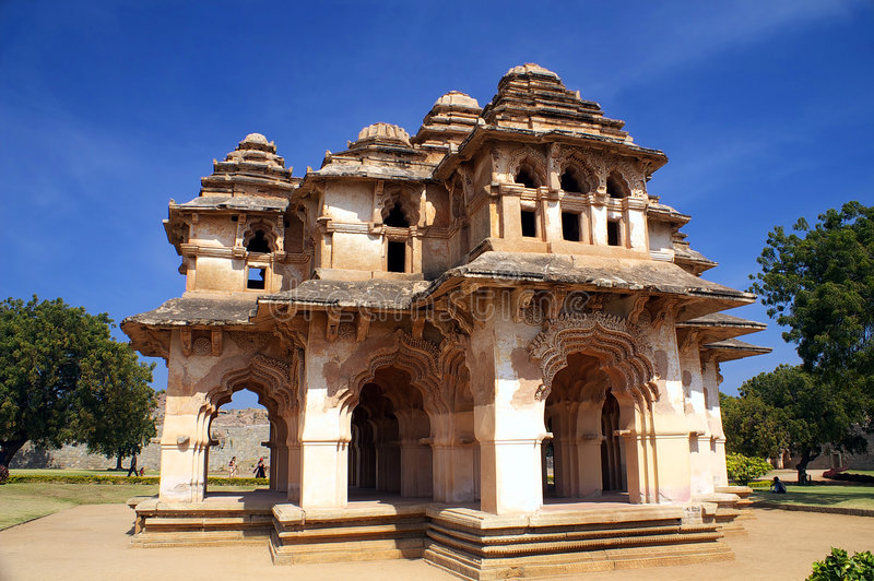 Lotus mahal image stock
