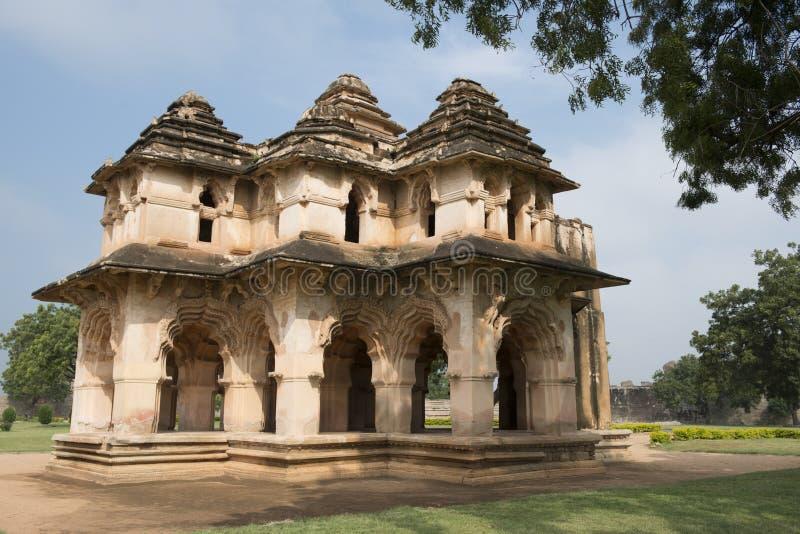 Lotus Mahal arkivfoto