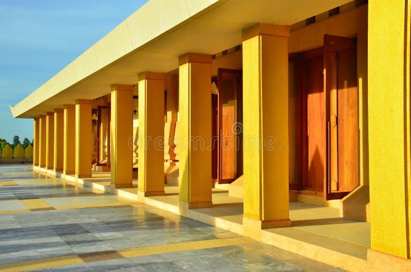 Lotus Pagoda Roi et province stock photography