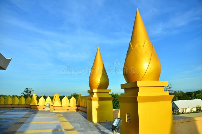 Lotus Pagoda Roi und stockbild