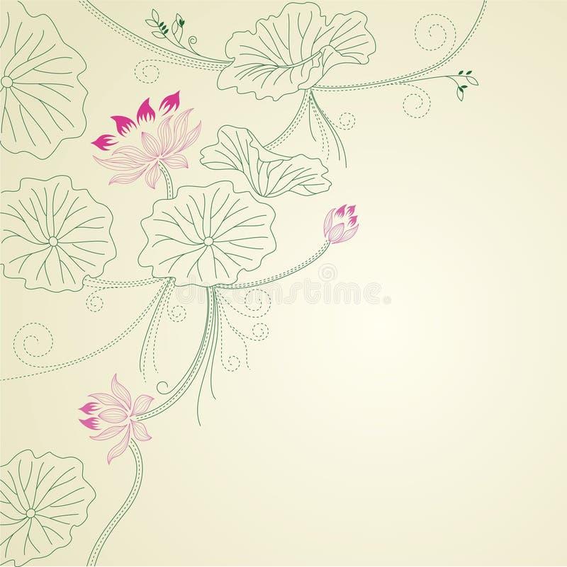 Download Lotus pattern stock vector. Illustration of sign, season - 18605906