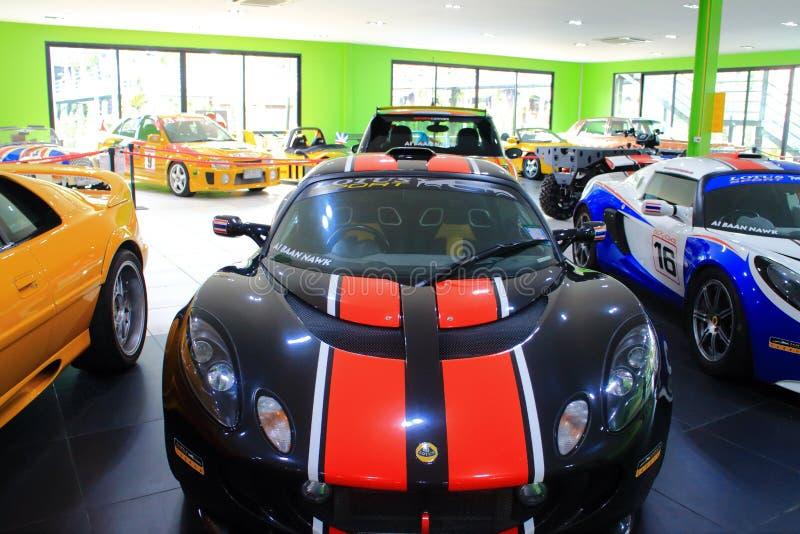 Lotus-Rennwagen stockfoto