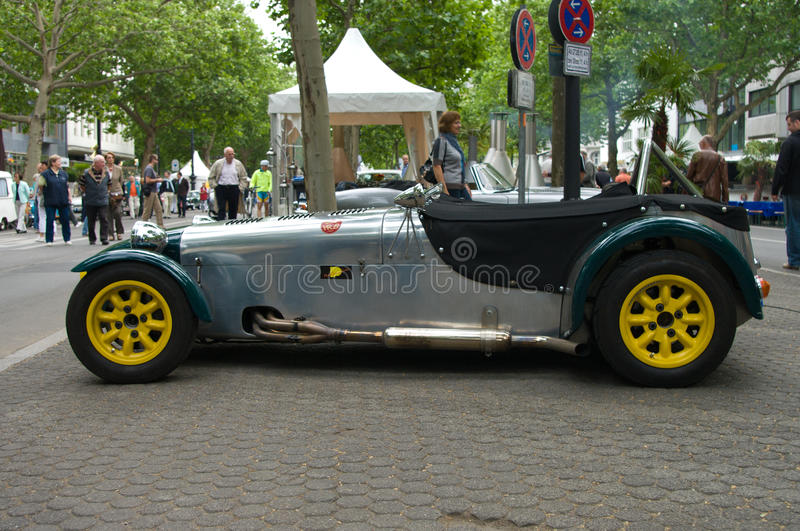 Download Lotus Seven 7F 1959 editorial photography. Image of berlin - 22539037