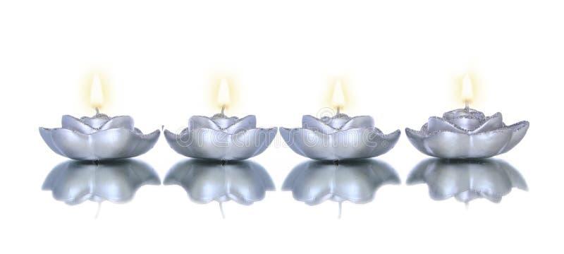 Lotus shade candles