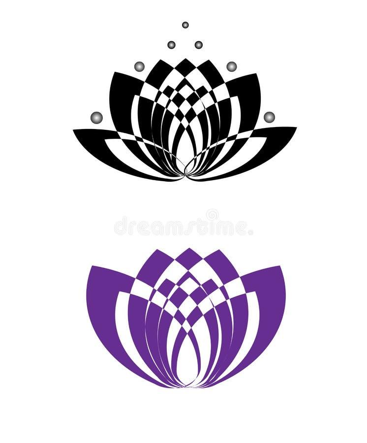 Lotus Symbol ilustração royalty free