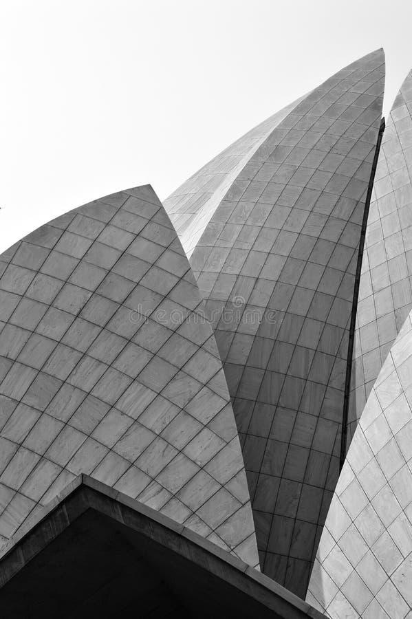 Lotus Temple fotografie stock