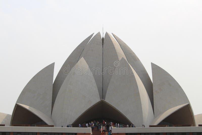 Lotus Temple fotos de archivo libres de regalías