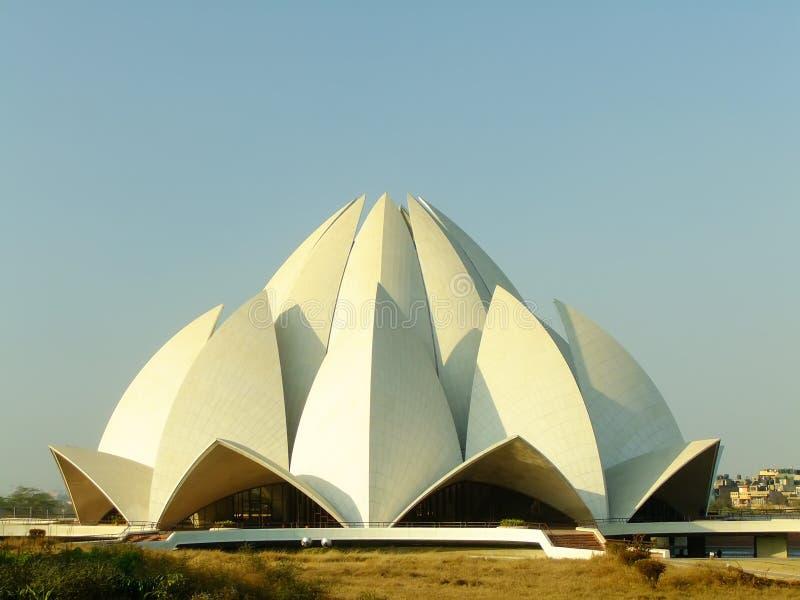 Lotus Temple, New Delhi royalty free stock photo