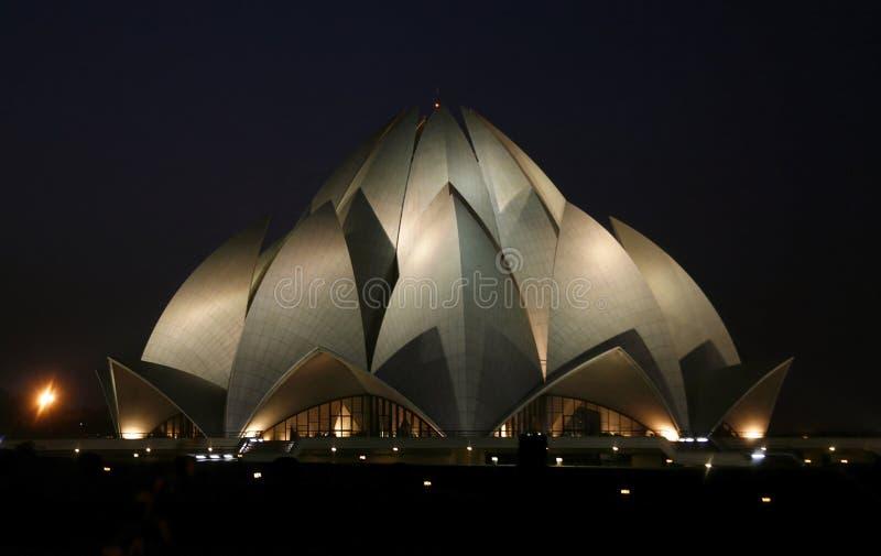 Download Lotus Temple At Night, Delhi Royalty Free Stock Photos - Image: 4159488