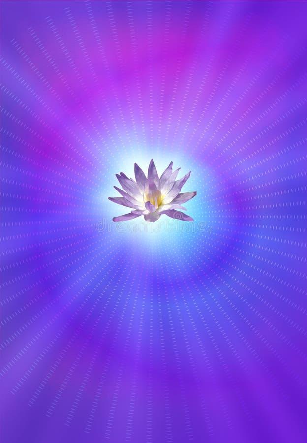 Lotus van de verlichting vector illustratie