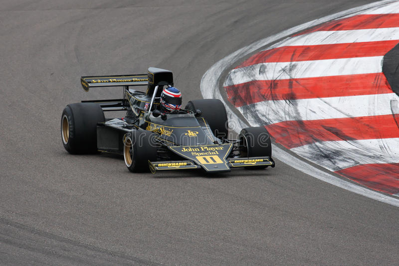 Lotus van Ronnie Peterson's stock afbeelding